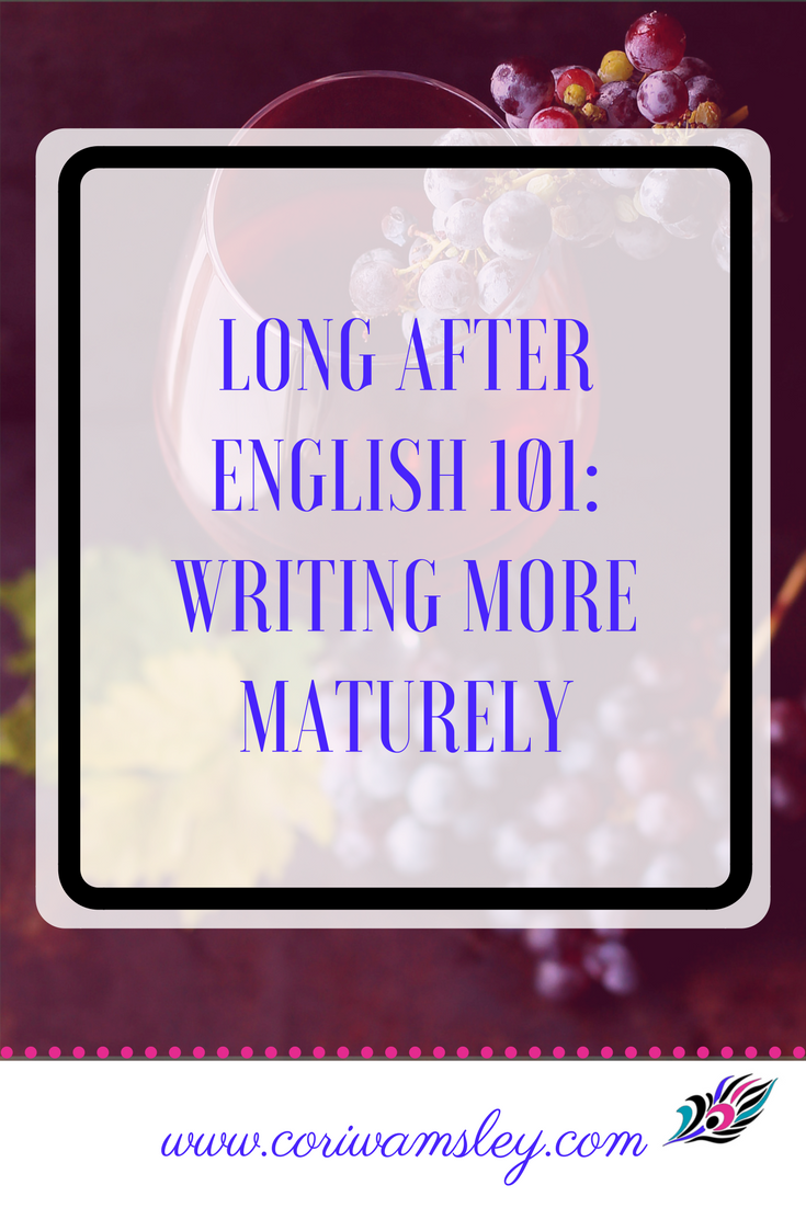 what i learned in english 101 essay Michael lam english 101 professor magie november 31, 2006 self-reflective essay: what i learned in english 101 english 101 has been a positive learning experience as assigned, i wrote one sentence in my noticing log everyday.